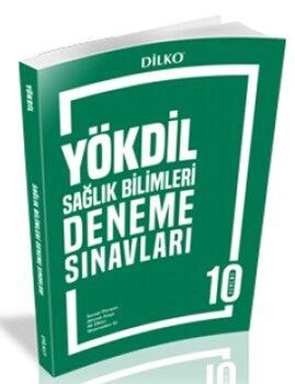 Dilko Yayıncılık YÖKDİL Sağlık Bilimleri Deneme Sınavları 10 Deneme