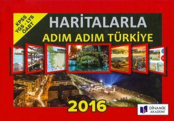 Dinamik Akademi 2016 KPSS YGS LYS ÖABT Haritalarla Adım Adım Türkiye