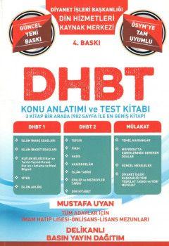 Dinamik Akademi DBHT Tüm Adaylar İçin Kaynak Merkezi Konu Anlatımı ve Test Kitabı
