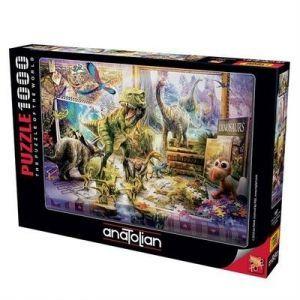 Dinazorlar Sahnede / Dino Toys Come Alive 1000 Parça Puzzle - Yapboz