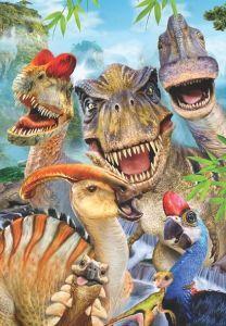 Dino Selfie 260 Parça Yapboz
