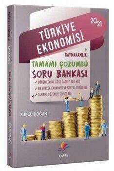 Dizgi Kitap 2021 Kaymakamlık Türkiye Ekonomisi Soru Bankası Çözümlü