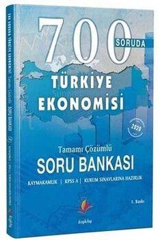 Dizgi Kitap 700 Soruda Türkiye Ekonomisi Tamamı Çözümlü Soru Bankası