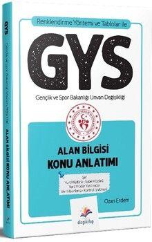 Dizgi Kitap GYS Gençlik ve Spor Bakanlığı Alan Bilgisi Konu Anlatımı