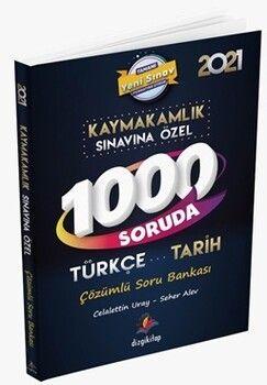 Dizgi Kitap Kaymakamlık Sınavına Özel 1000 Soruda Türkçe Tarih Çözümlü Soru Bankası