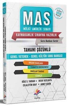 Dizgi Kitap MAS 2020 Kaymakamlık Genel Yetenek Genel Kültür Çözümlü Soru Bankası