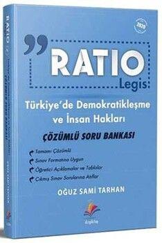 Dizgi Kitap Ratio İnsan Hakları ve Demokratikleşme Çözümlü Soru Bankası