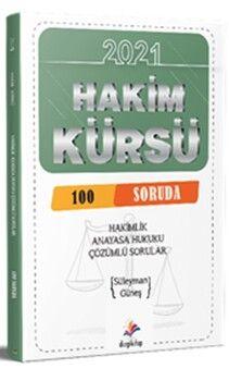 Dizgi Kitap Yayınları Hakim Kürsü 100 Soruda Anayasa Çözümlü Sorular