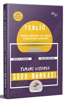 Dizgi Kitap Yayınları Tebliğ İdare Hukuku İdari Yargılama Hukuku Çözümlü Soru Bankası