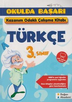 Doğan Akademi 3. Sınıf Türkçe Kazanım Odaklı Çalışma Kitabı