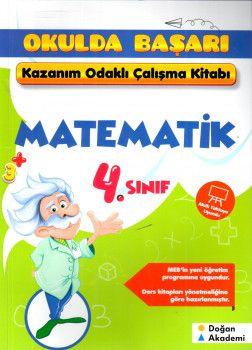 Doğan Akademi 4. Sınıf Matematik Kazanım Odaklı Çalışma Kitabım