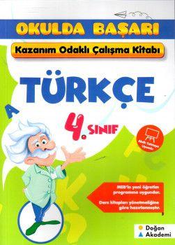 Doğan Akademi 4. Sınıf Türkçe Kazanım Odaklı Çalışma Kitabım