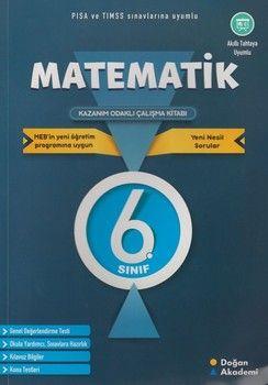 Doğan Akademi 6. Sınıf Matematik Kazanım Odaklı Çalışma Kitabı
