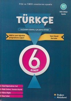 Doğan Akademi 6. Sınıf Türkçe Kazanım Odaklı Çalışma Kitabı