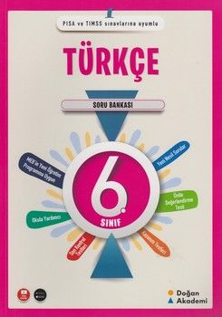 Doğan Akademi 6. Sınıf Türkçe Soru Bankası
