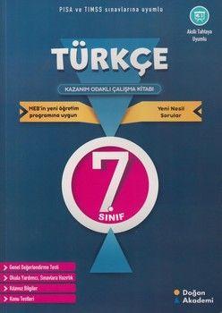 Doğan Akademi 7. Sınıf Türkçe Kazanım Odaklı Çalışma Kitabı