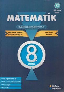 Doğan Akademi 8. Sınıf Matematik Kazanım Odaklı Çalışma Kitabı