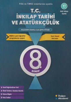 Doğan Akademi 8. Sınıf T.C. İnkılap Tarihi ve Atatürkçülük Kazanım Odaklı Çalışma Kitabı