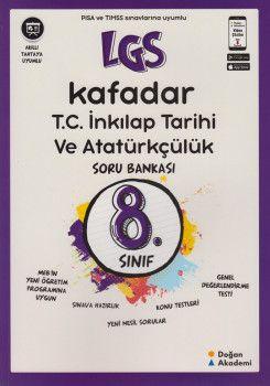 Doğan Akademi 8. Sınıf LGS T.C. İnkılap Tarihi ve Atatürkçülük Kafadar Soru Bankası