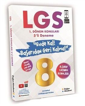 Doğan Akademi 8. Sınıf LGS 1. Dönem Konuları 5 li Deneme