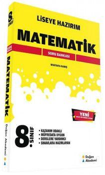 Doğan Akademi 8. Sınıf Liseye Hazırım Matematik Soru Bankası
