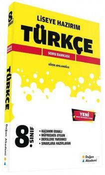 Doğan Akademi 8. Sınıf Liseye Hazırım Türkçe Soru Bankası