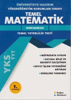 Doğan Akademi YKS 1. Oturum TYT Üniversiteye HazırımTemel Matematik Soru Bankası