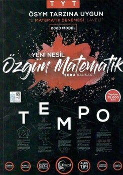 Doğru Kontrol Yayınları TYT Özgün Matematik Tempo Yeni Nesil Soru Bankası