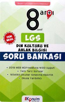 Doğru Konum Yayınları 8. Sınıf Yeni Nesil LGS Din Kültürü ve Ahlak Bilgisi Soru Bankası