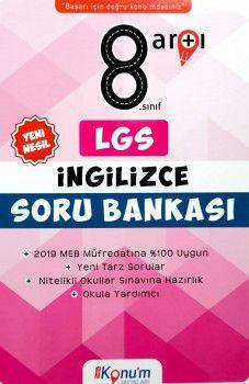 Doğru Konum Yayınları 8. Sınıf LGS Yeni Nesil İngilizce Soru Bankası