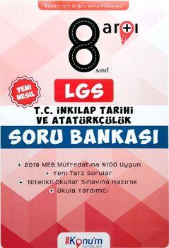 Doğru Konum Yayınları8. Sınıf LGS Yeni Nesil T.C. İnkılap Tarihi ve Atatürkçülük Soru Bankası
