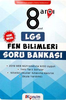 Doğru Konum Yayınları8. Sınıf LGS Yeni Nesil Fen Bilimleri Soru Bankası