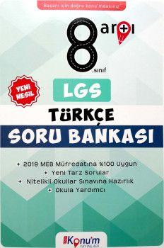 Doğru Konum Yayınları 8. Sınıf LGS Yeni Nesil Türkçe Soru Bankası
