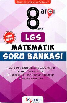 Doğru Konum Yayınları 8. Sınıf LGS Yeni Nesil Matematik Soru Bankası
