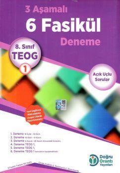 Doğru Orantı Yayınları 8. Sınıf TEOG 1 3 Aşamalı 6 Fasikül Deneme