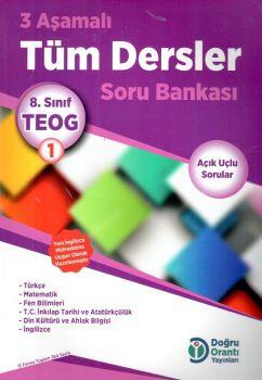 Doğru Orantı Yayınları 8. Sınıf TEOG 1 3 Aşamalı Tüm Dersler Soru Bankası