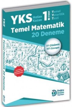 Doğru Orantı Yayınları YKS 1. Oturum TYT Temel Matematik 20 Deneme