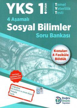 Doğru Orantı Yayınları YKS 1. Oturum TYT 4 Aşamalı Sosyal Bilimler Soru Bankası