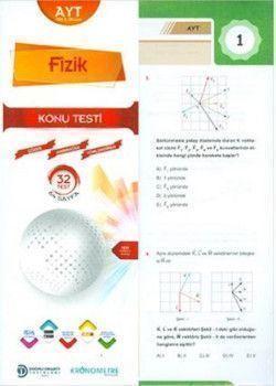 Doğru Orantı Yayınları AYT Fizik Yaprak Test