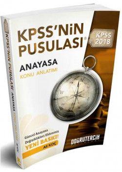 Doğru Tercih KPSS nin Pusulası Anayasa Konu Anlatımı