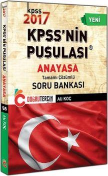 Doğru Tercih Yayınları 2017 KPSS nin Pusulası Anayasa Tamamı Çözümlü Soru Bankası