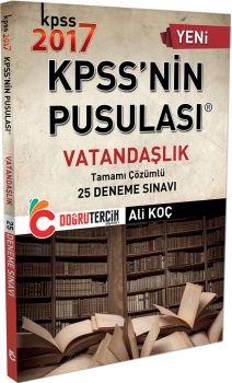Doğru Tercih Yayınları 2017 KPSS Vatandaşlık Tamamı Çözümlü 25 Deneme Sınavı