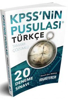 Doğru Tercih Yayınları 2018 KPSS nin Pusulası Türkçe 20 Çözümlü Deneme