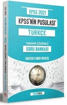 Doğru Tercih Yayınları 2021 KPSS nin Pusulası Türkçe Soru Bankası