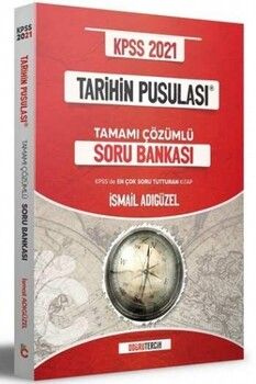 Doğru Tercih Yayınları KPSS 2021 Tarihin Pusulası Tamamı Çözümlü Soru Bankası