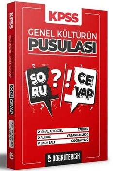 Doğru Tercih Yayınları 2021 KPSS Genel Kültürün Pusulası Soru Cevap