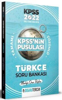 Doğru Tercih Yayınları 2022 KPSS NİN Pusulası Türkçe Soru Bankası