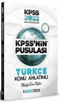 Doğru Tercih Yayınları 2022 KPSS nin Pusulası Türkçe Konu Anlatımı