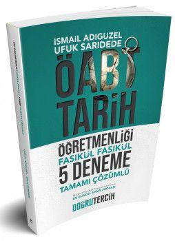 Doğru Tercih Yayınları ÖABT Tarih Öğretmenliği Fasikül 5 Deneme