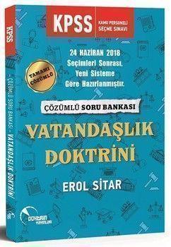 Doktrin Yayınları KPSS Vatandaşlık Doktrini Çözümlü Soru Bankası